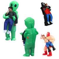 Accesorios creativos juguete broma ET fantasma ropa inflable modelo Halloween comedia juguetes Bar Decoración