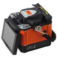 A-80S naranja automática empalmador de fusión máquina de fibra óptica empalmador de fusión de fibra óptica máquina de empalme