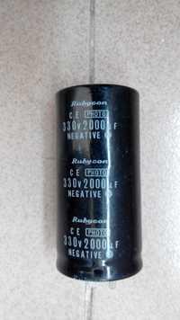 Baja ESR 330 v 2000 uf flash condensador 35*70mm