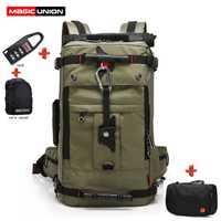 Mágica Unión nueva Oxford mochila 20 pulgadas Portátil Bolsa de los hombres de viaje impermeable mochila mujer montañismo bolsa de hombro mochila
