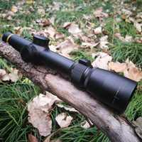 1.5-5X20 Acquisition de cible rapide chasse courte Riflescoepes Mil-dot réticule tactique pour tir au pistolet Airsoft