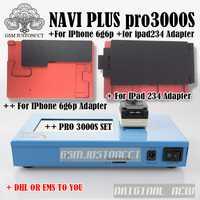 DHL a Pro 3000 s NAND programador Flash NAVIPLUS PRO3000S IP Box Chip programador 32bit + 64BIT reparación instrumento para iPhone iPad