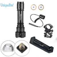 UniqueFire T20 OSRAM IR 940NM linterna LED 38mm de la lente convexa de la luz infrarroja antorcha 3 Modo Kit para la noche de caza