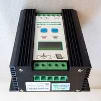Controlador híbrido Solar del viento 80A 1200 W MPPT Solar de potencia 400 W viento generador de 800 W y 12 V 24 V regulador de carga híbrido inteligente