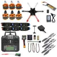 JMT DIY completo F550 Drone Kit 2,4g 10CH aviones RC Radiolink Mini PIX M8N GPS PIXHAWK altitud FPV actualización