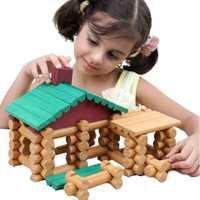 Casas de muñecas DIY casa de muñecas de madera en miniatura rompecabezas creativo juguete de montaje para niños regalos