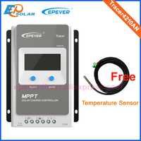 12 V 24 V nuevo trazador 4210AN 40 amperios MPPT Panel Solar regulador de carga controlador 40A impulso solar EP EPEVER original 3210AN 2210