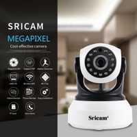 1080 P Sricam HD cámara IP de seguridad inalámbrica Wifi Audio de dos vías IR-Cut visión nocturna de vigilancia de Audio monitor de Alarma interior para bebé
