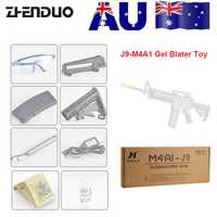 ZhenDuo juguetes Jinming Gen9 M4A1 eléctrico Gel pelota Blaster de agua bala pistola Mag-Federación de juguete al aire libre para niño