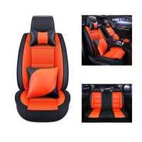 WLMWL cubierta de asiento de coche para Volkswagen vw passat b5 b6 b7 polo 4 5 6 7 golf tiguan Accesorios cojín automóviles coche de estilo