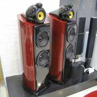 Mistral SAG-350 180 W 2 x de alta fidelidad de pié altavoz de Torre (PAR)