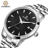 STARKING Original Watch AM0184- Reloj de pulsera automático para hombre en acero inoxidable - Resistente al agua 5ATM