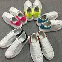 2018 caliente Casual encaje pisos Platfoem zapatos mujeres zapatos par zapatos blancos zapatos de Color mezclado cómodo caminando calzado zapatos de mujer