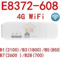 E8372 E8372H-608 4G wifi stick con doble TS9 antena cambiar IMEi firmware 21.180.07.00.00