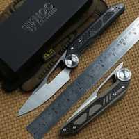 NOC DG-04 tácticas cuchillo plegable 440C hoja KVT de rodamiento de bolas G10 manejar camping caza al aire libre supervivencia cuchillos herramientas EDC