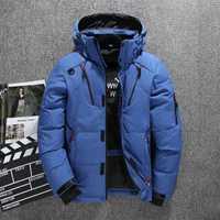 Épais chaud hiver manteau hommes à capuche décontracté en plein air homme doudoune Parka mode coupe-vent hommes pardessus
