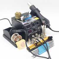 220 V 500 W Estación de soldadura GORDAK 868D 2 en 1 Estación de Reparación SMD pistola de aire caliente + soldadura eléctrica de hierro para la soldadura de herramientas de reparación de