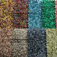 Faux cuero Telas Glitter chunky glittle cuero Encaje Telas para Costura DIY Telas cuero p799