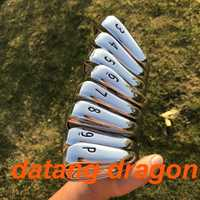 2018 golf hierros 718 forjado datang dragón AP2 planchas (3 4 5 6 7 8 9 P) con dinámico oro S300 eje de acero de 8 piezas de hierro de los clubes de golf