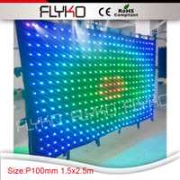 Lejos distancia de visualización precio favorable pantalla LED etapa bar pantalla gota