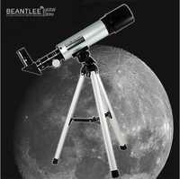 Alta calidad Monocular Telescopio astronómico F36050 al aire libre de la localización Telescopio con trípode mejor regalo de cumpleaños para los niños