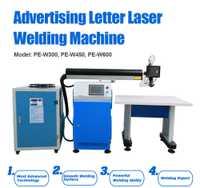 Anuncio carta láser de la máquina de soldadura soldador de aluminio de acero inoxidable de soldadura hoja