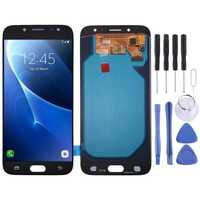 Pantalla de LCD de alta calidad digitalizador Asamblea completa Oled vidrio de repuesto para Samsung Galaxy J7 (2017) j730FM/DS con herramienta