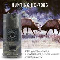 HC700G caza Cámara 3G SMS GSM 16MP 1080 p visión nocturna por infrarrojos de Vida Silvestre Cámara sendero caza Animal scouting