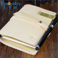 Notebook viajeros cuero genuino verde oliva hecho a mano Sketchbook planificador creativo Vintage Dokibook Agenda N128