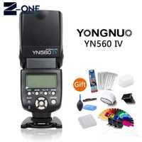 Yongnuo YN-560IV yn 560IV yn560iv YN-560IV 2.4g flash inalámbrico para Canon 80D M6 60D 600D 800D 70D 700D 200D 77D 750D 1500D