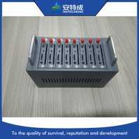 Mejor Precio 8 Port Modem Gsm Multi tarjeta Sim módem Gsm 8 puertos Sms Hardware MTK M35 módem gsm piscina