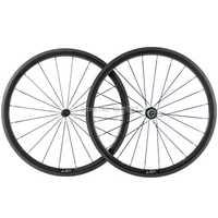 38mm rueda del carbón del camino del remachador DE LA BICI Ruedas ET con powerway R13 Hub Racing bicicleta Ruedas