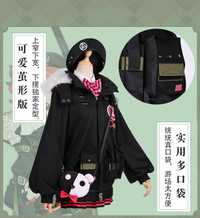 Traje de combate Mp7 para niñas, disfraz de Cosplay, ropa diaria para mujeres