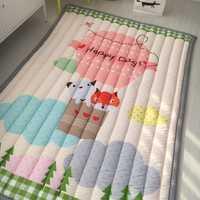 Infantile Brillant Bébé tapis de jeu 3 CM Épaisseur Épaississement de Pliage 140X195 CM Le Jeu Couverture tapis de chambre de Bande Dessinée Bébé tapis