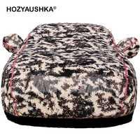 Voiture vêtements bâche de voiture bâche de voiture protection solaire isolation pluie épais universel parasol couverture