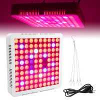 BORUiT 400/600 W lleno espectro planta crecer luz AC85-265V rojo azul blanco IR UV LED Phytolamp interior de efecto invernadero planta lámpara de la tienda de