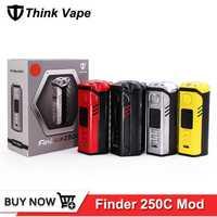 Original que Vape de 300 W caja Mod alimentado por Evolv ADN 250c Chip TC VW Thinkvape de DNA250C cigarrillo electrónico Mod