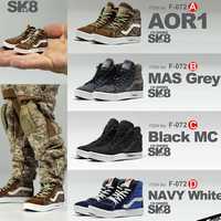 MCToys 1/6 escala figura de acción accesorios SK8 2,0 zapatos de skate zapatos zapatillas de deporte de ocio DIY/B/C/ D F-072 ajuste 12 pulgadas Hottoys