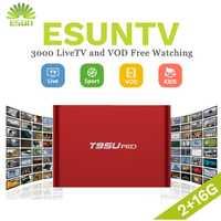 1 año IPTV incluido T95U PRO Android IPTV Box 6,0 Smart TV Caja España Reino Unido Alemania Italia Países Bajos Suecia, Portugal EX-YU xxx nos