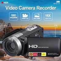 Cewaal 3.0 pulgadas LCD 1080 p HD ir visión nocturna infrarroja Cámaras digitales video DV Videocámaras de consumo portátil ee.uu. enchufe