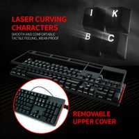 HEXGEARS intercambiables en caliente teclado Anti fantasma de fondo de 104 llaves de Kailh caja interruptor jugador teclado PCB mecánico de juegos de teclado