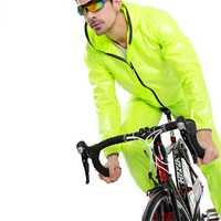 INBIKE capa de lluvia de las mujeres de los hombres ciclismo Jersey impermeable a prueba de viento Anti-sudor de Ciclismo MTB bicicleta de montaña bicicleta de carretera ropa