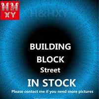H & HXY DHL EN STOCK 15001 15002 15005 15006 15007 15008 15009 15010 15015 15036 15039 15042 Maison Modèle Bloc De Construction Briques Jouets