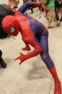 (SN834) alta calidad cuerpo completo LICRA Spandex superhéroe el increíble patrón Spiderman Cosplay Zentai trajes disfraz de Halloween