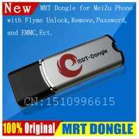 DONGLE MRT Original 100% para la eliminación de contraseña de desbloqueo de cuenta Meizu Flyme y EMMC completamente activado
