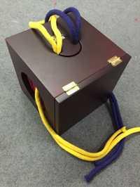 Boîte doyenne de haute qualité (Dill Dean), boîte à cordes et bagues, tours de magie, scène, Gimmick, Illusion, magie classique, jouets