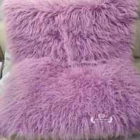 Fotografía recién nacido utilería manta de bebé alfombra de piel sintética relleno cesta Flokati Stuffer suave Fondo De piel larga fotografía