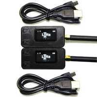 2 piezas TTGO 433/868 Mhz ESP32 LoRa OLED 0,96 pulgadas azul pantalla Bluetooth WIFI ESP-32 Módulo de placa de desarrollo