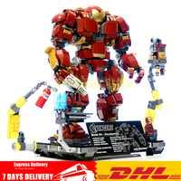 En Stock Super Héroes de hierro hombre Hulkbuster: Ultron edición juguete ladrillos de construcción bloques modelo clon Legoinglys 76105