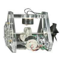 3 bobinas ventilador hoja de alta velocidad Hall máquina eléctrica Motor de prueba física modelo juguete educativo regalo para chico adultos